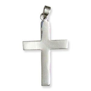 E60 Cross Sterling Silver Pendant