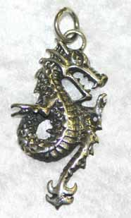 SP5 Oriental Dragon Sterling Silver Pendant