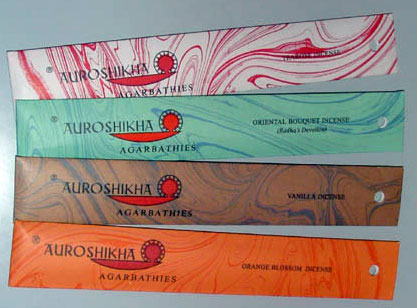 Green Apple by Auroville Incense 10g