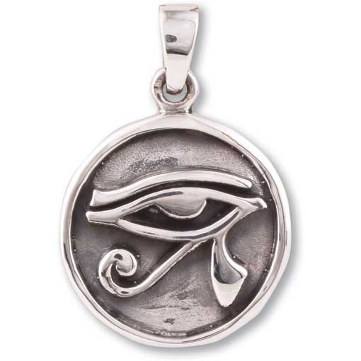 SP13 Eye of Horus Sterling Silver Pendant