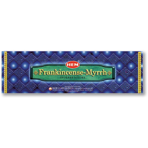 Frankincense - Myrrh Hem Incense 8g