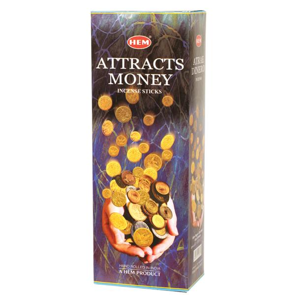 Attracts Money Hem Incense 8g - Click Image to Close