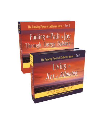 The Amazing Power of Deliberate Intent Part 2 - 4CD set - Finding the Path to Joy Through Energy Balance - Esther Hicks