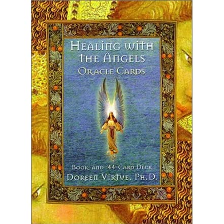 PRELOVED Healing with the Angels Oracle Cards - Doreen Virtue