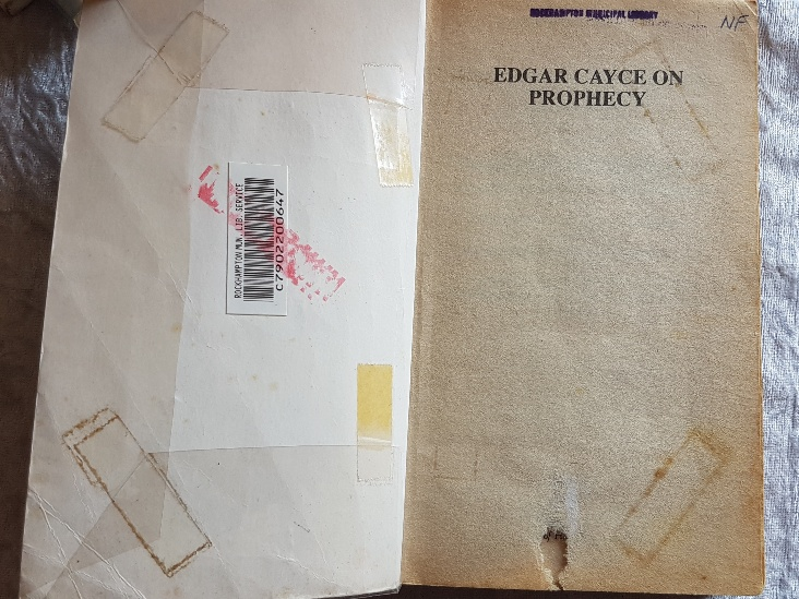 PRELOVED Edgar Cayce on Prophecy- Mary Ellen Carter
