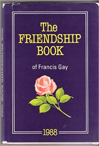 PRELOVED The Friendship Book 1988 - Francis Gay