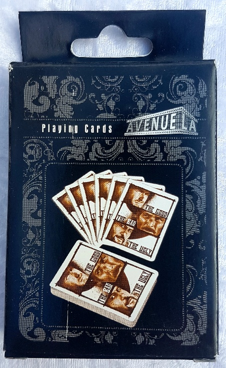 The Good, the Bad and the Ugly playing card set