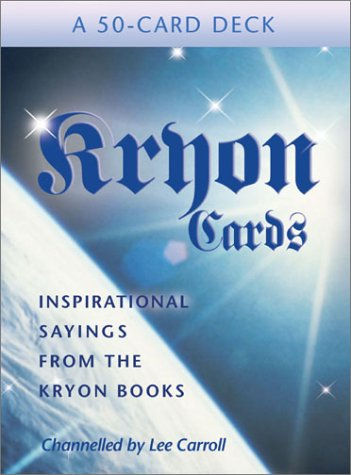 PRELOVED Kryon Cards - Lee Carroll