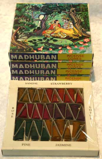 Madhuban Incense Cones