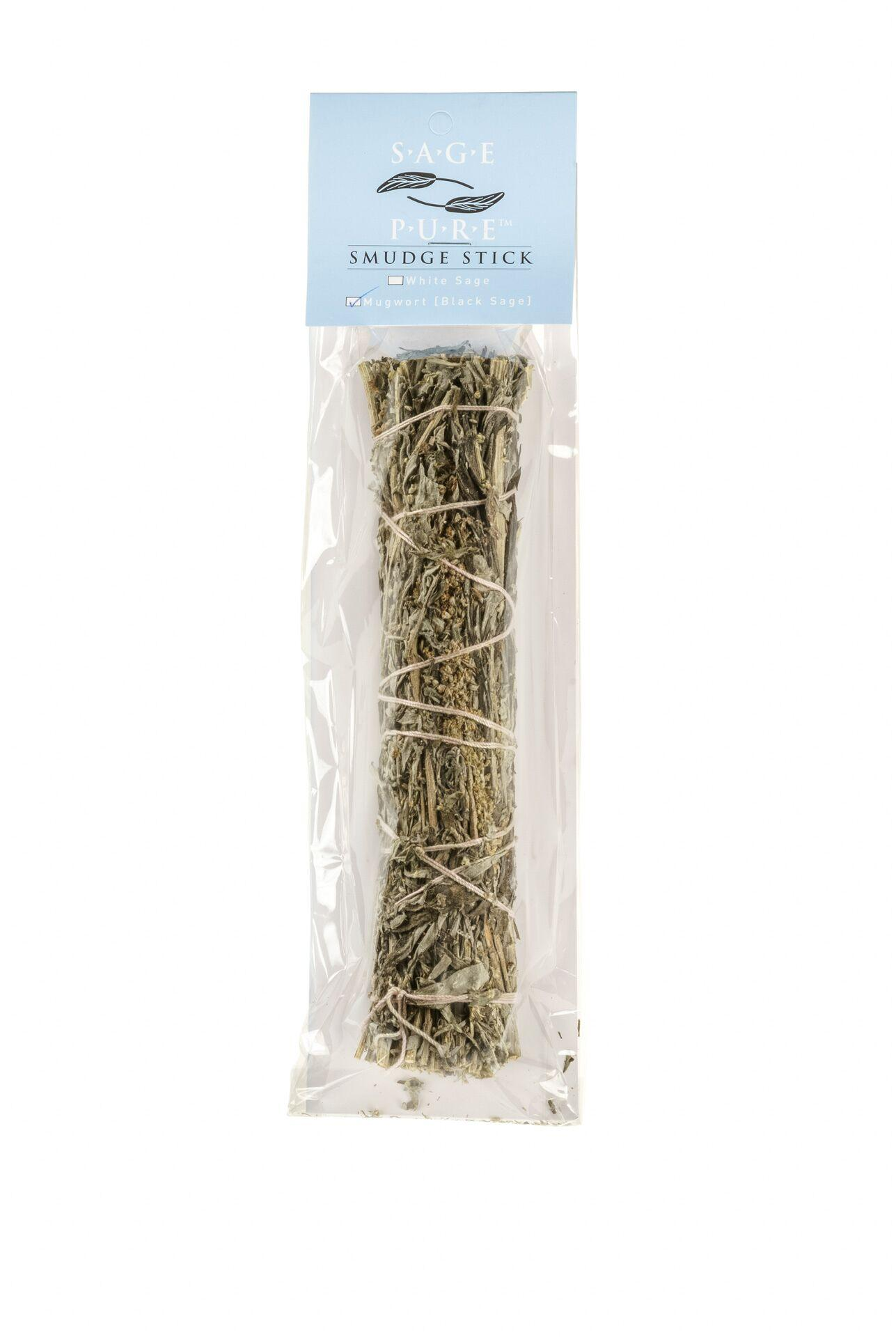 Sage Pure MUGWORT Black Sage SMUDGE STICKS