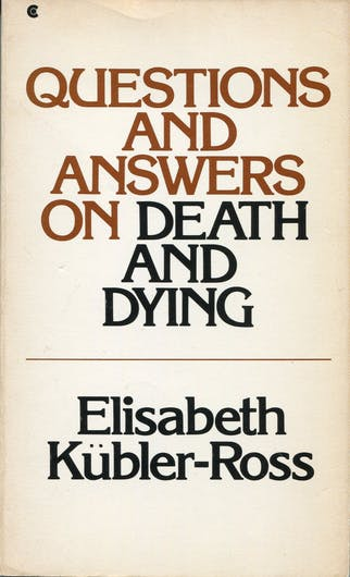 PRELOVED Questions and Answers on Death and Dying - Elisabeth Kubler-Ross