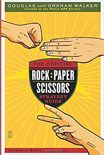 PRELOVED Official Rock, Paper, Scissors Strategy Game, The - Graham Walker