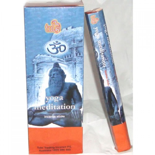 Yoga Meditation Tulsi Incense 20g