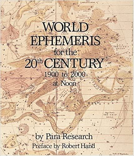 World Ephemeris for the 20th Century - Para Research